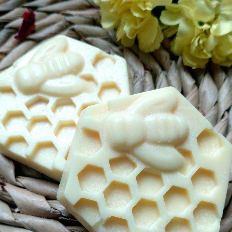 Honeycomb bee melts 2